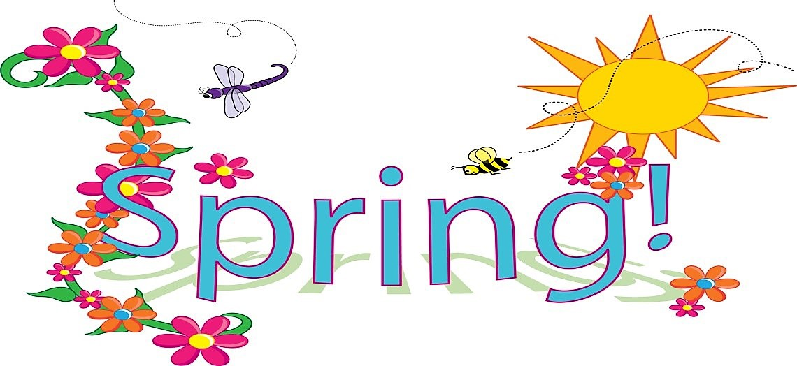 picture of spring text logo